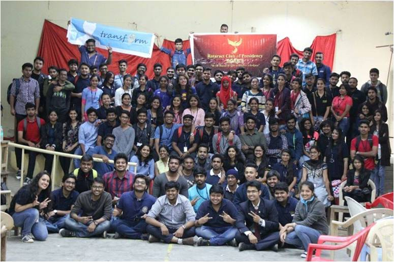 Rotaract Koramangala Bengaluru TRANSFORM 2.0