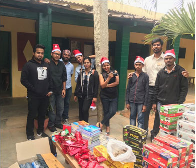 Rotaract Koramangala Bengaluru Being Santa