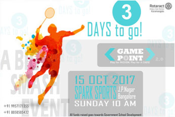 Rotaract Koramangala Bengaluru GAME POINT v2.0